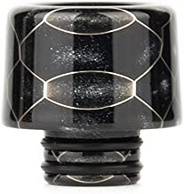 Satelliter 510 Drip Tip, Standard Resin Drip Tip Connector for Ice Maker Coffee Mod(510 Black)