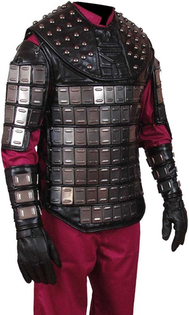 Flesh & Hide F&H Men's Ape General Vest with Wrist Cuffs