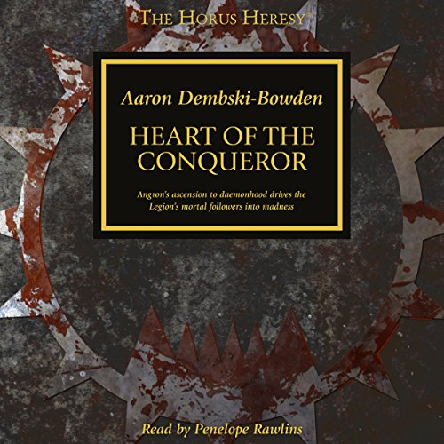 Heart of the Conquerer audiobook cover art