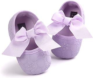 الأحذية الكاجوال Soft Bottom Non-slip Toddler Shoes Princess Shoes for Baby(White) الأحذية الكاجوال