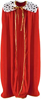 Beistle 60253 Adult King/Queen Robe, 4-Feet 4-Inch, color may vary