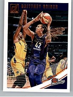 2019 Donruss WNBA #37 Brittney Griner Phoenix Mercury Basketball Trading Card