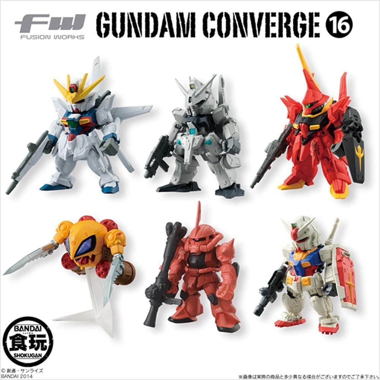 ON BOX CONVERGE16 10 Stuck Gundam (Candy Toys & gum)