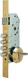 Tesa 3010258 Cerradura Seguridad R100B566 Esmaltada, Cromado