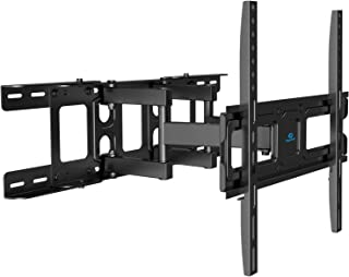 TV Wall Mount Bracket Full Motion Swivel Articulating Arms Tilt Rotation, Fit Most 26-55 Inch LED, LCD, OLED Flat Curved T...