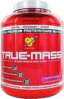 BSN True Mass Ultra Premium Mass Gainer Strawberry Milkshake, 5 lbs.