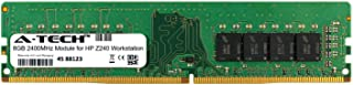 A-Tech 8GB Module for HP Z240 Workstation Desktop & Workstation Motherboard Compatible DDR4 2400Mhz Memory Ram (ATMS383245A25820X1)
