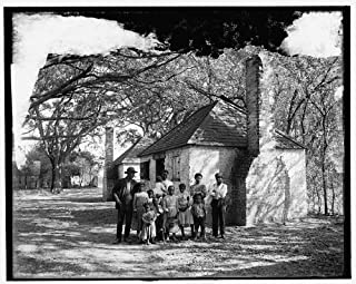Photo: Whole black family,African Americans,plantations,Hermitage,Savannah,GA,1907