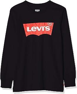 Levi's Kids Lvb L/S Batwing Tee Maglia a Maniche Lunghe Bambina