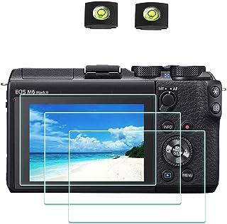 6x protector de pantalla para Canon Digital IXUS 132 claro recubrimiento protector protector de pantalla