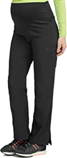 Med Couture Women's Knit Waist Maternity Scrub Pant