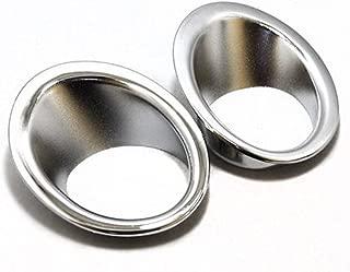 Chrome Front Fog Lights Lamp Mask Cover Molding Frame Ring Trim for Nissan Qashqai 2007-2014