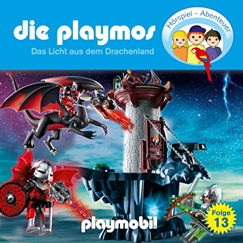 Das Licht aus dem Drachenland (Die Playmos 13) Titelbild
