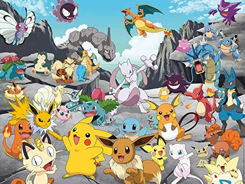 Ravensburger Puzzle 16784 at: Pokémon Classics 16784-Pokémon Classics-1500 Teile, Mehrfarbig