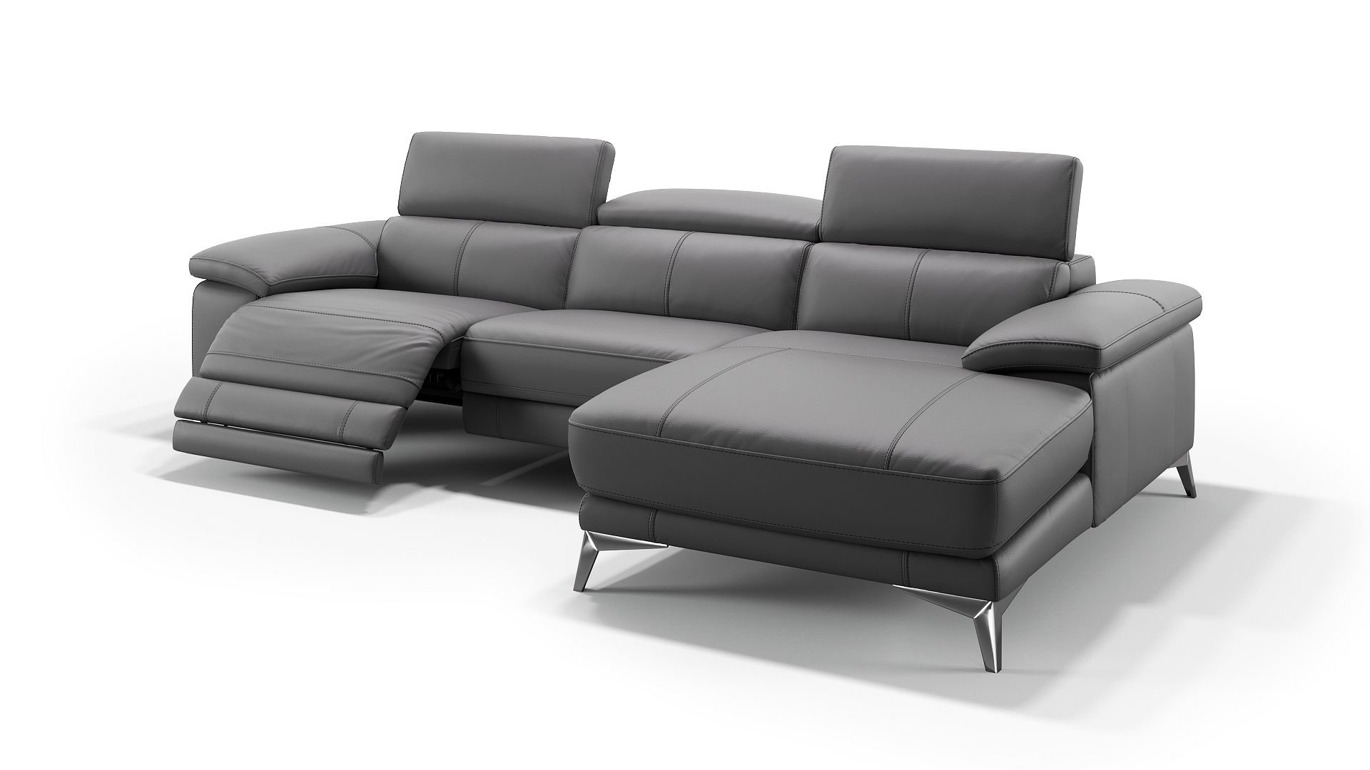 Großartig Ledercouch Schwarz Bestand An Wohndesign Design
