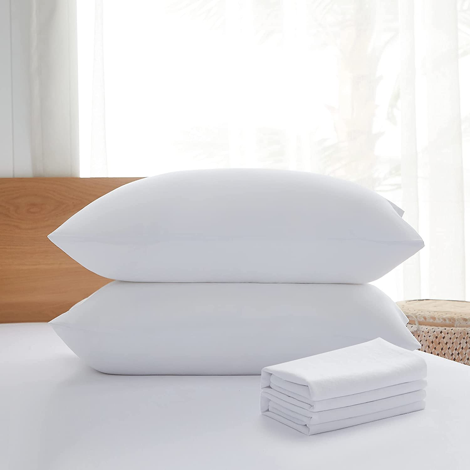 Acanva Bed Pillows 2 Pack Max 64% OFF Hotel Inserts Collection Luxury Soft Sacramento Mall f