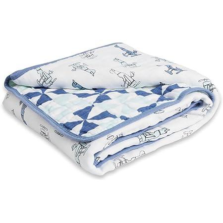 Little Big World Muslin Baby Blankets for Girls /& Boys Ideal Lightweight Newborn Nursery /& Crib Blanket Anais Essentials Dream Blanket Aden Shower /& Registry Gift