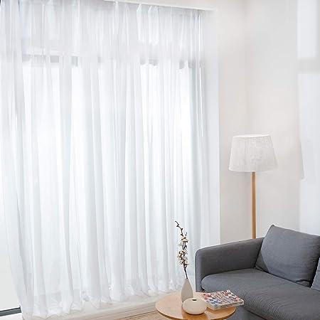 BEDELITE レース カーテン 透けない 2枚組 ミラーレースカーテン カーテン レース ミラーカーテン 遮光カーテン UVカット 紫外線カット プライバシーカット 遮熱 洗える 外から見えにくい 省エネ 夜も見えない 保温 断熱 幅100cm×丈198cm