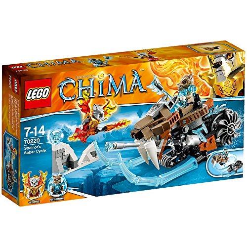 LEGO Legends of Chima 70220 - Strainors Säbelzahnmotorrad