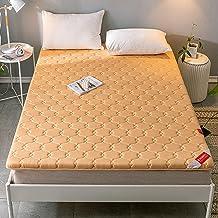 Folding Futon Tatami Mattress,Japanese Floor Mattress Full Size,Cotton Tatami Floor Mat,Non-Slip Futon Mattress Topper,Sof...