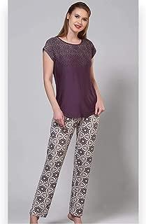 Kısa Kollu Kadın Pijama Takım - 51144