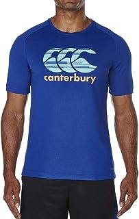 Canterbury 2018 Mens Vapodri Poly Large Logo Athletic Fit T-Shirt