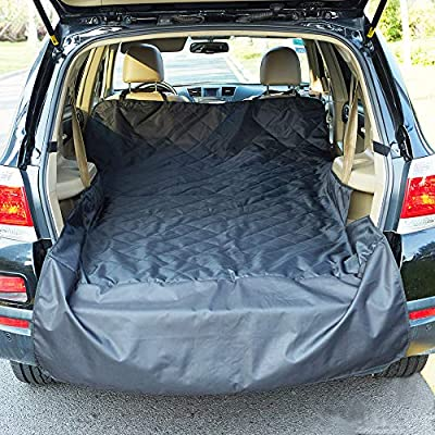 INNX Quilted SUV Dog Cargo Liner, Dog Cargo Cover for SUV, Waterproof to protect your SUV, Minivans, Jeeps