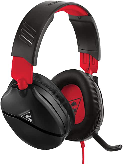 8994d13c155 Turtle Beach Recon 70 Over-Ear 3.5mm Wired Gaming Headphones for Nintendo  Switch