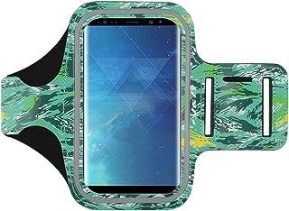 J&D Compatible para Samsung Galaxy A9 2018/Galaxy Note 8/Note 10 Plus/Note 10 Plus 5G/Note 10+/Note 10+ 5G/Note 10 Pro Brazalete Deportivo para Correr, Ranura para Llave y Conexión con Auriculares
