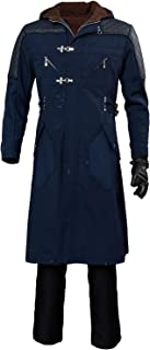 Nero Long Casual Coat Devil May Cry V Cosplay Costume Hoodie Outwear(Not Including Pants)