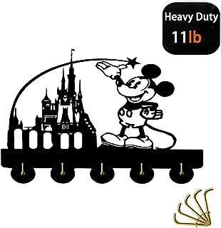 Beaty Disney Castle Theme Wall Decor Hooks Customize Household Door Decor Hooks Multi-Function Wall Coat Bags Clothes Hook Keys Holder