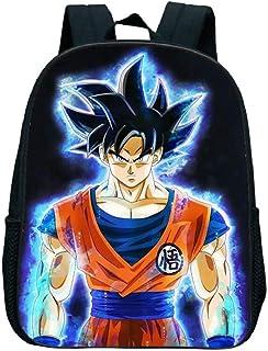 Dragon Ball Z Goku Mochila Niños Mochilas Escolares Niños Niños Niñas Primaria Mochila Kindergarten Niños Bolsas pequeñas Anime Fans Gift