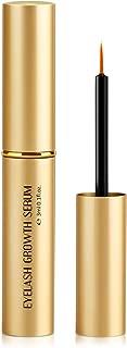 Eyelash Growth Serum - 100% Natural Eyelash Eyebrow Enhancer Lash Growth Serum give you Longer and Thicker Eyelash, Fuller and Healthier Eyebrow - 3ml - No more False Eyelashes & Eyebrow Tattooing
