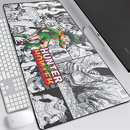 Alfombrilla Gaming Anime Hunter X Hunter Alfombrilla de ratón Portátil de Gran tamaño Laptop Pad Mesa de Mesa para Jugar Juegos Mousepad (Color : E, Size : 800 * 300)