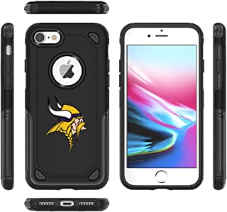 Designer Case for 7 Plus iPhone 6s Plus Tough Electroplate Case, 3 in 1 Ultra-Thin Smooth Anti-Scratch PC Hard Back Case Full Cover for iPhone 6 Plus/iPhone 6s Plus- Black