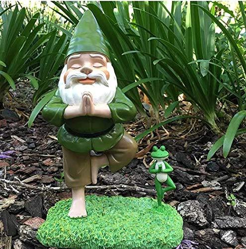 KENANLAN Gnometastic Machen Sie GNOME Wieder großartig Gartenzwergstatue/Lustiger Rasenzwerg und Gartendekoration, Beste Gartenzwerge