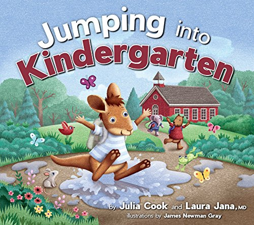 Jumping Into Kindergarten: Get Ready for the First Day of School (English Edition)