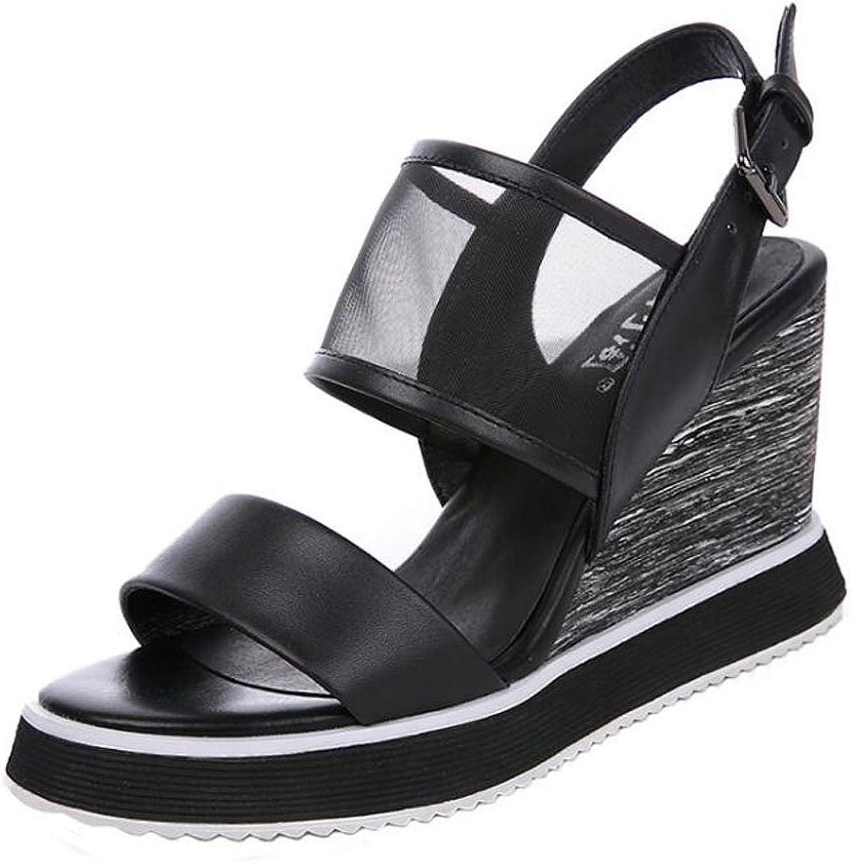 Koreanisch, Weiblich, Sommer, Rutschfest, Keil, Plattform, Mode, Sandalen, Sandalen, High Heels  verkaufen sich wie warme Semmeln