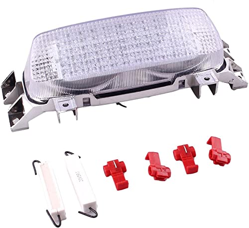 lowest Mallofusa Motorcycle Integrated Taillight LED Brake Tail Light Compatible for SUZUKI sale GSXR600 outlet sale 1993-1995 GSXR750 GSXR1000 1993-1998 Clear Len sale
