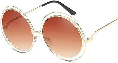 Oversized Round Sunglasses Fashion Women Large Size Big Retro Mirror Sun Glasses Lady Female Vintage Uv4