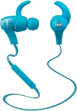 Monster iSport Bluetooth Wireless In-Ear Sports Headphones - Blue, Running, Sweatproof