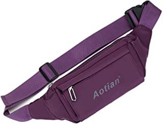 Travel Essential, Stylish and Durable Korean Version of The Outdoor Leisure Chest Bag (Color : Purple, Size : 21 * 11 * 5cm)