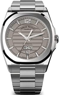 Armand Nicolet Gents-Wristwatch J09-2 Day & Date Analog Automatic A650AAA-GR-MA4650AA