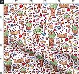 Cupcakes, Dessert, Eis, Essen, Süßigkeiten, Süß Stoffe