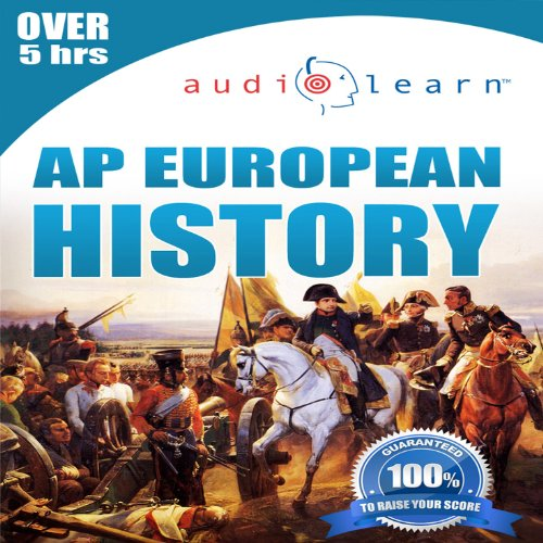 2013 AP European History AudioLearn audiobook cover art