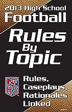 Best high school football rule book 2013 Reviews