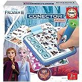 Educa - Conector Junior Frozen II Juego de preguntas y respuestas, Incluye boli sabio con led, para...