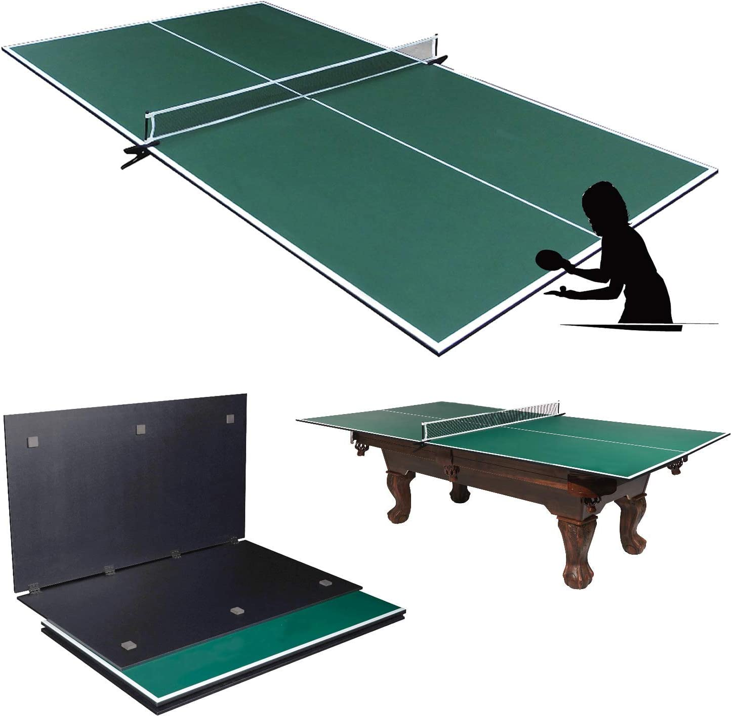 Picotech Portable free shipping Ping Pong Table – for Max 62% OFF I Topper Pool