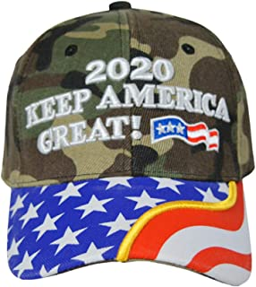 Trump Hat, 3D Embroidered Keep America Great Hat,Donald Trump 2020 Cap Adjustable Baseball Cap for Women and Men