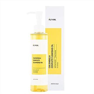 iUNIK Calendula Complete Deep Cleansing Oil, 6.70 Fl Oz – 94% Natural Oil Cleanser, Makeup Remover for Waterproof Makeups....